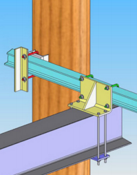 FEA Modeling to confirm:  Secure your Cradle Lift to your pilings for Hurricanes